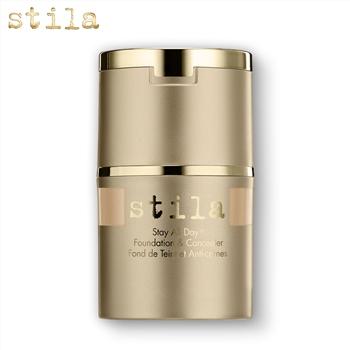 集美优彩妆 Stila  24小时持妆 二合一遮瑕粉底液
