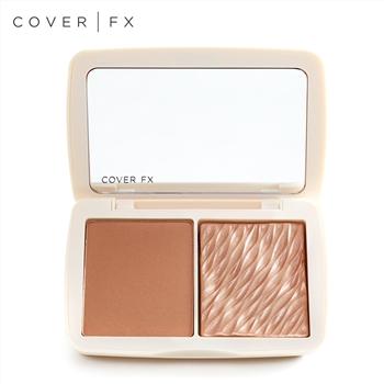 集美优彩妆 COVER FX 双色修容盘(哑光/珠光)