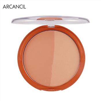 集美优彩妆 Arcancil双色古铜提亮粉饼