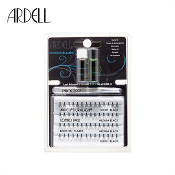 集美优彩妆 Ardell Lash 分段式假睫毛 初学者套装(包含假睫毛,胶水和假睫毛辅助器)