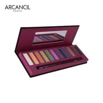 集美优彩妆 Arcancil十二色眼影盘