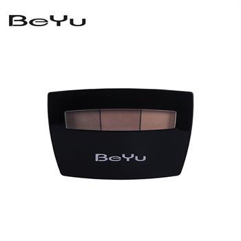 集美优彩妆 BeYu 三色眉粉盒