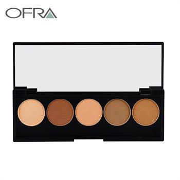 集美优彩妆 Ofra精选5色干湿粉底盘
