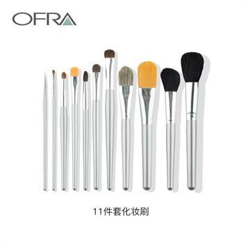 集美优彩妆 ofra 11件套化妆刷
