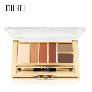 集美优彩妆 milani每日心情眼影组合6g(六色眼影)