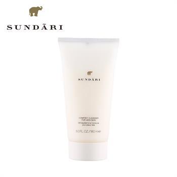 集美优彩妆 Sundari紫草洁面乳  适合干性肤质 180ml