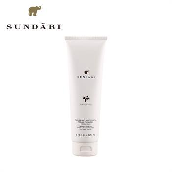 集美优彩妆 Sundari奥米茄3白桦洁面乳 适合干性肤质 120ml