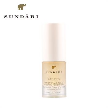集美优彩妆 Sundari奥米茄3海藻精华液 适合干性肤质 15ml