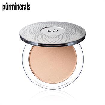 集美优彩妆 purminerals 四合一矿物定妆粉饼