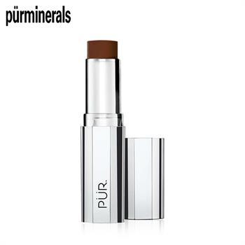 集美优彩妆 purminerals 四合一遮瑕粉底棒-褐色