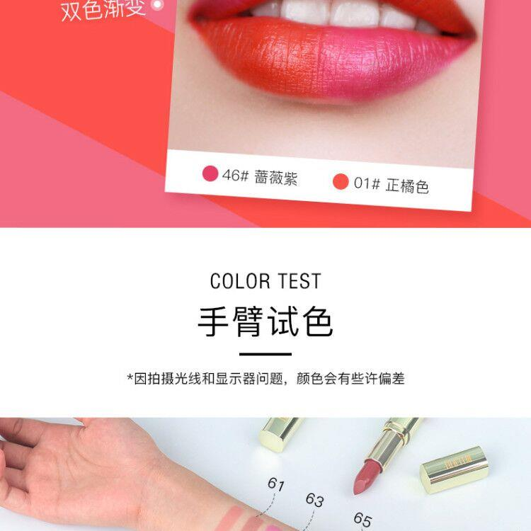 集美优彩妆 milani超显色滋润口红3.97g