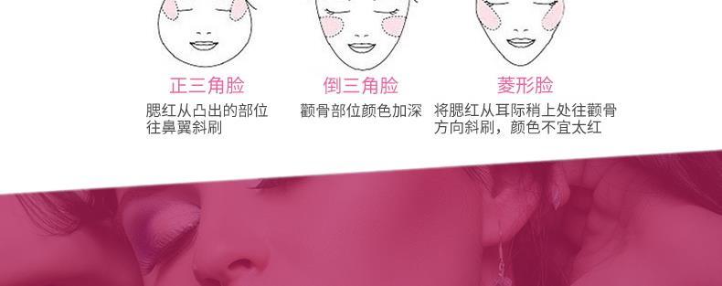 集美优彩妆 milani矿物烘培腮红+腮红刷