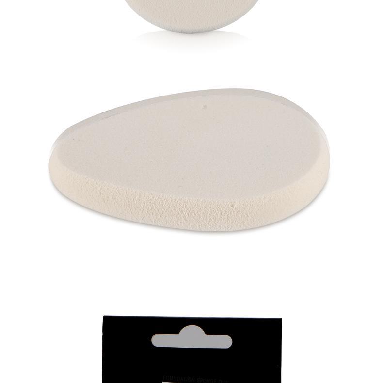 集美优彩妆 海绵粉扑(椭圆形)